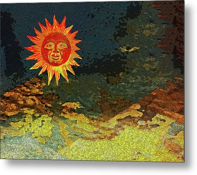 Sunny 1 Metal Print by Bruce Iorio