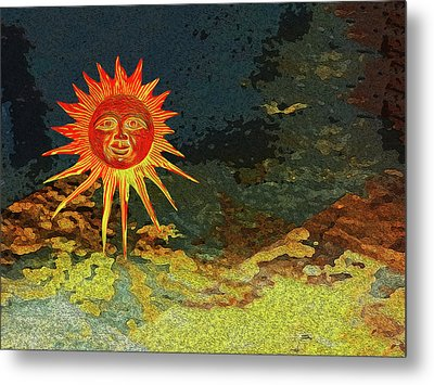 Sunny 3 Metal Print by Bruce Iorio