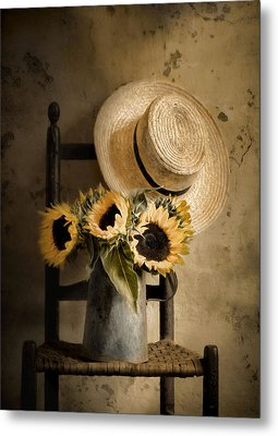 Sunny Inside Metal Print by Robin-Lee Vieira