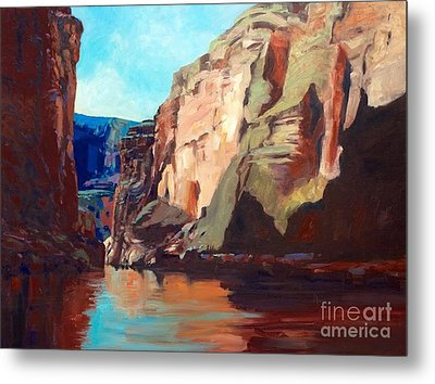 Sunny Morning On The Mighty Colorado Metal Print