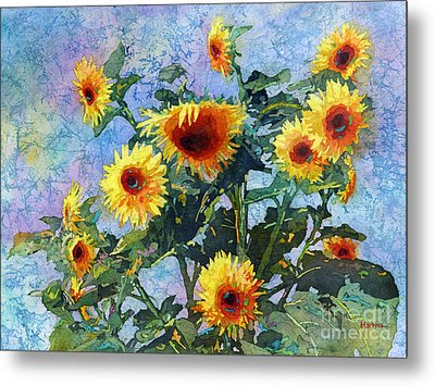 Metal Print featuring the painting Sunny Sundance by Hailey E Herrera