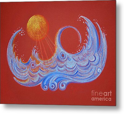 Sunny Waters Metal Print by Chimera Kai