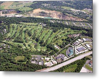 Sunnybrook Golf Club Golf Course Metal Print