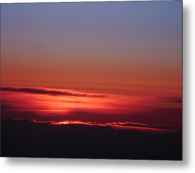 Sunrise A Different View Metal Print
