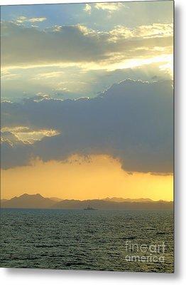 Sunrise After The Typhoon Metal Print