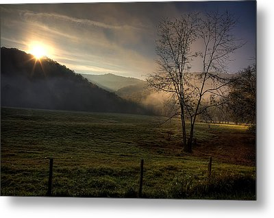 Metal Print featuring the photograph Sunrise At Big Hollow by Michael Dougherty