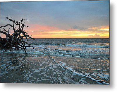 Sunrise At Driftwood Beach 1.3 Metal Print by Bruce Gourley