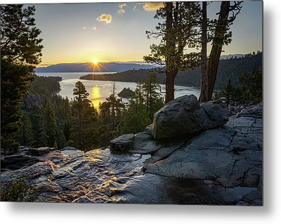 Sunrise At Emerald Bay In Lake Tahoe Metal Print by James Udall