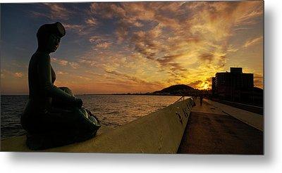 Sunrise At Jeju Island Metal Print by Ng Hock How