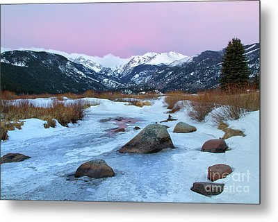 Sunrise At Rocky Mountain National Park Metal Print