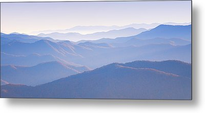 Sunrise Atop Clingman's Dome Gsmnp Metal Print