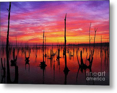 Sunrise Awaits Metal Print