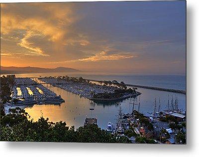 Sunrise Dana Point Harbor Metal Print