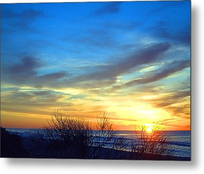Sunrise Dune I I Metal Print by  Newwwman
