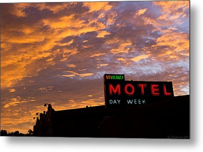 Metal Print featuring the photograph Sunrise Enters Capitola by Lora Lee Chapman