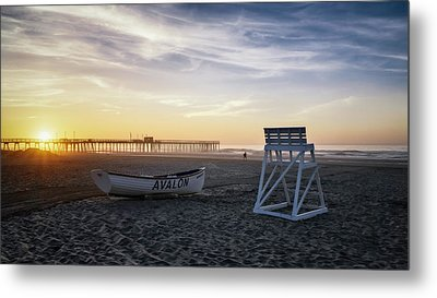 Metal Print featuring the photograph Sunrise In Avalon by Eduard Moldoveanu