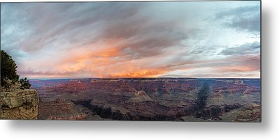 Sunrise In The Canyon Metal Print by Jon Glaser