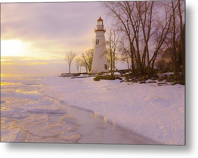 Sunrise Marblehead Metal Print by Jack R Perry