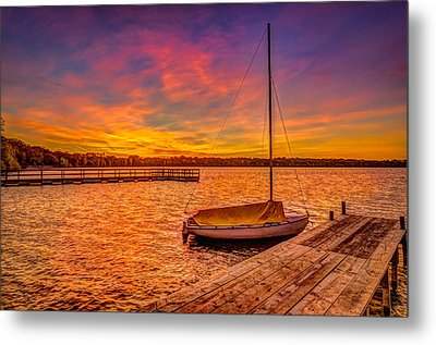 Sunrise Minneapolis Metal Print