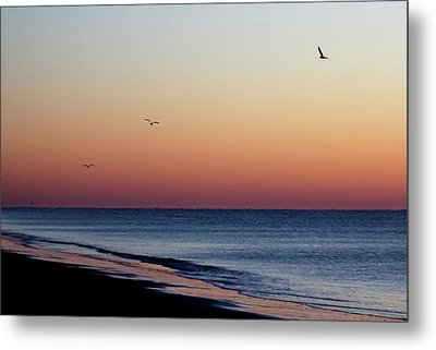 Sunrise On Hilton Head Metal Print