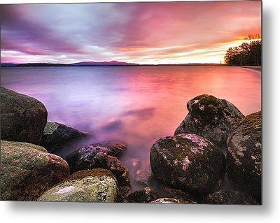 Sunrise On Lake Winnipesaukee Metal Print
