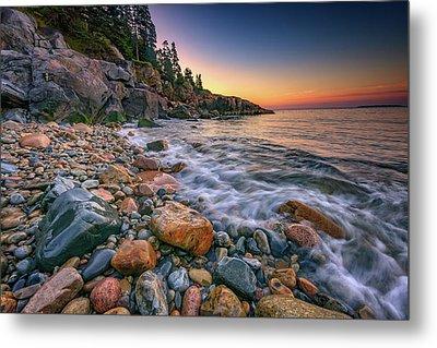 Sunrise On Little Hunters Beach Metal Print by Rick Berk
