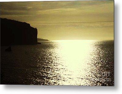 Sunrise On The Almalfi Coast Metal Print