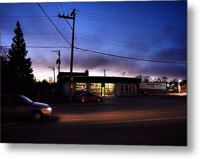 Metal Print featuring the photograph Sunrise Over Charlie's by Jeanette O'Toole