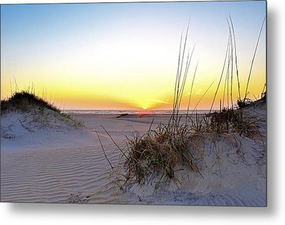 Sunrise Over Pea Island Metal Print