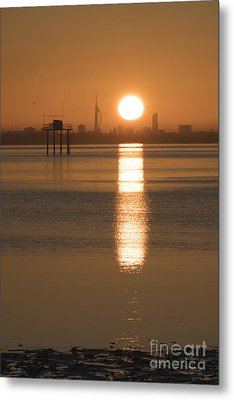 Sunrise Over Portsmouth Metal Print
