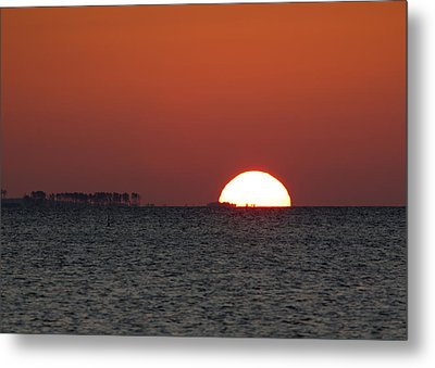 Sunrise Over The Bay 5x7 Metal Print