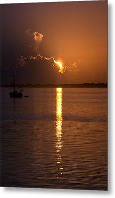 Sunrise Over The Intracoastal Metal Print