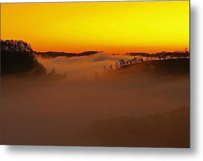 Sunrise Over The Red River Gorge. Metal Print by Ulrich Burkhalter
