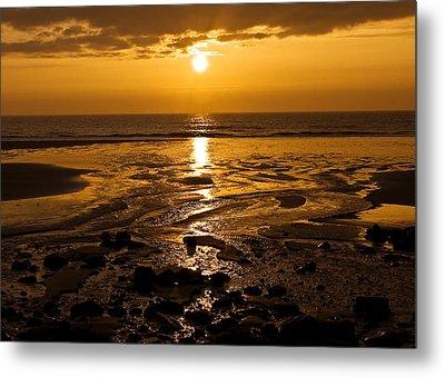 Sunrise Over The Sea Metal Print by Svetlana Sewell