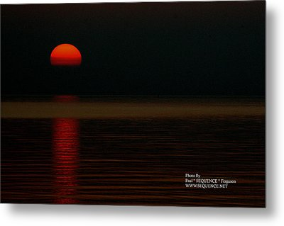 Metal Print featuring the photograph Sunrise by Paul SEQUENCE Ferguson             sequence dot net