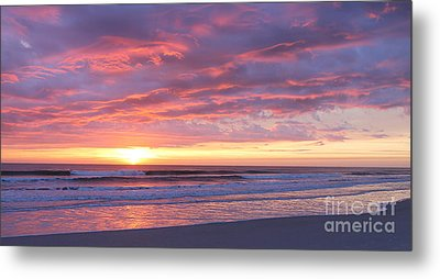 Sunrise Pinks Metal Print