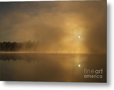 Sunrise Relections Metal Print