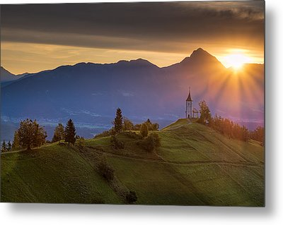 Sunrise Metal Print by Robert Krajnc