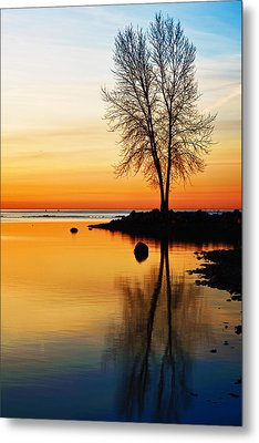 Sunrise Serenity Metal Print by James Marvin Phelps