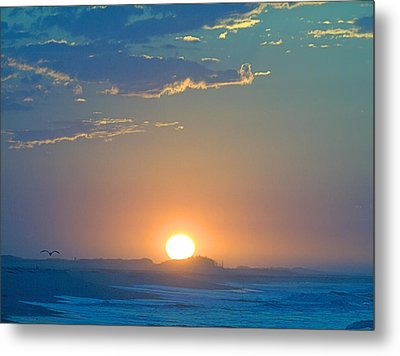 Metal Print featuring the photograph Sunrise Sky by  Newwwman