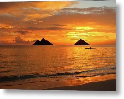 Sunrise Solo Metal Print by Brian Governale