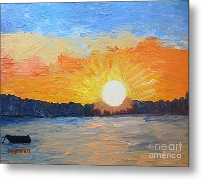 Sunrise Sensation Metal Print by Stella Sherman