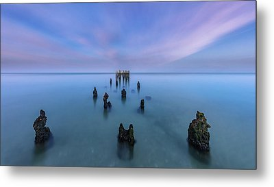 Metal Print featuring the photograph Sunrise Symmetry by Mike Lang