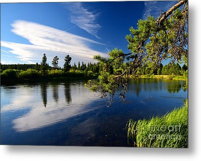 Sunriver Spectacular Metal Print by Johanne Peale