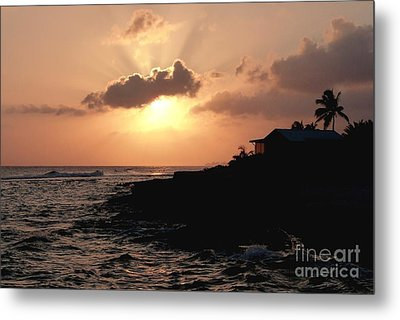 Sunset @ Spotts Metal Print