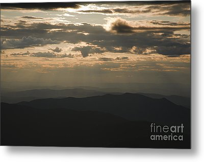 Sunset - White Mountains New Hampshire Usa Metal Print by Erin Paul Donovan