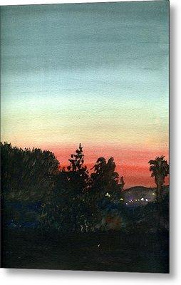Sunset #26 Lemon Grove Metal Print