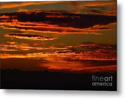 Sunset 5 Metal Print by Jean Bernard Roussilhe