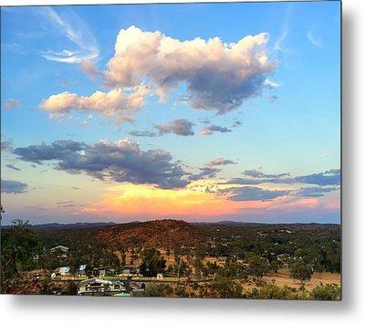 Sunset At Alice Springs #2 Metal Print