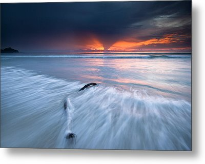 Sunset At Borneo Metal Print by Ng Hock How